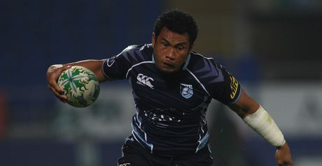 Laulala: First-half try