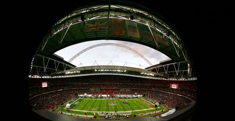 Wembley packed out for NFL game