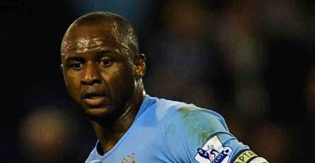 Vieira: Was not offered a new contract at Man City