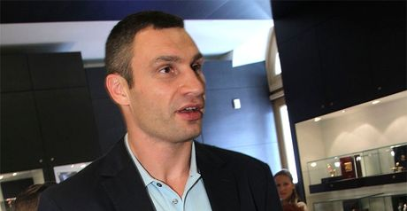 Klitschko: Ready to step in