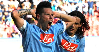 Hamsik: Linked with a summer move but Napoli expect him to stay