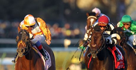 Dangerous Midge and Frankie Dettori go on to win the Breeders' Cup Turf