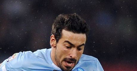 Ezequiel Lavezzi: Could leave Napoli if his contract clause is activated