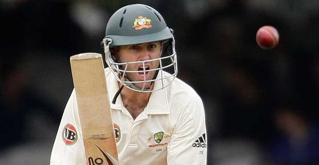 Katich: not handed a new central contract by Cricket Australia