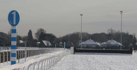Kempton: Needs to beat the snow to race on Saturday