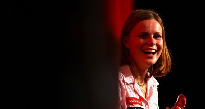 Anastasia Dobromyslova is one of two women to have featured in the World Darts Championship - at least two more will feature in this year's event