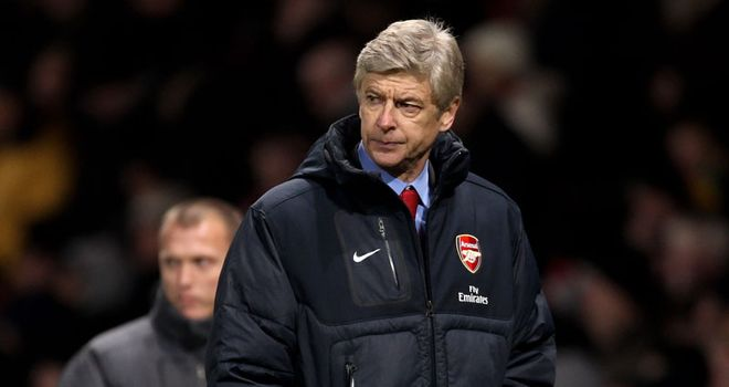 Wenger: Not expecting miracles