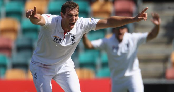 Tremlett: Tipped to play in Perth
