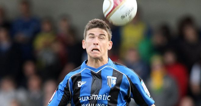 McDonald: At the double for Gillingham