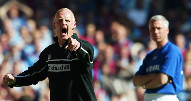 Crystal Palace secured play-off success against West Ham in 2004