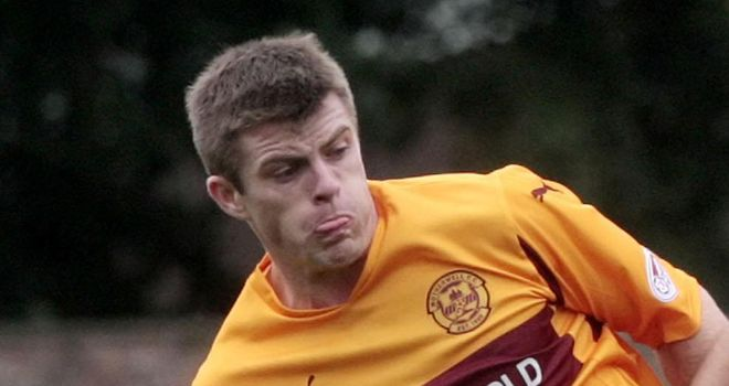 Jennings: Delighted to be staying at Motherwell after attracting interest from elsewhere