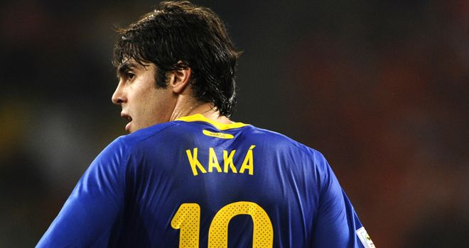 Kaka: Real Madrid attacking midfielder will miss Brazil's next two international games
