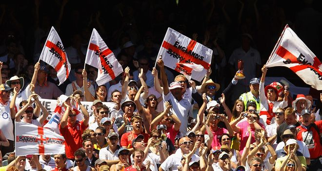 England are on the brink in Sydney