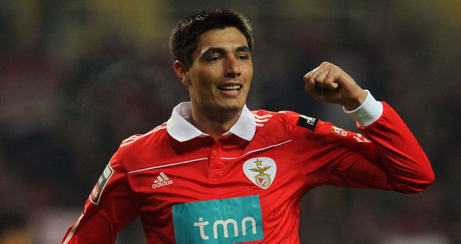 Cardozo: Set to sign a new deal at Benfica