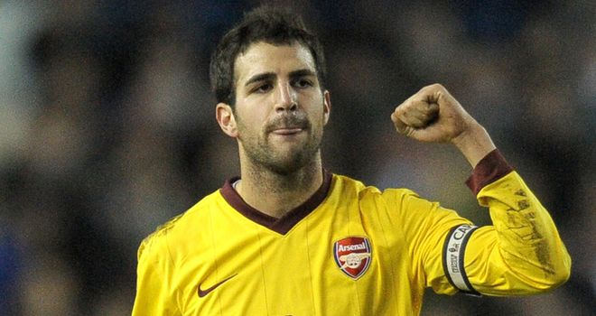 Fabregas: Insists he will not leave Arsenal for an English club