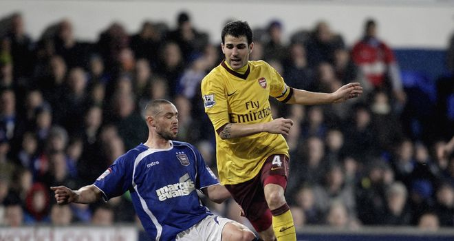 Fabregas: Hit out at Ipswich tactics
