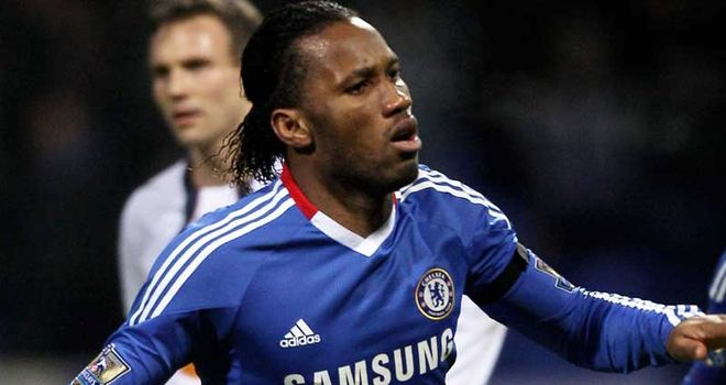 Drogba: Has been linked with a summer move to Man City