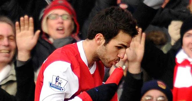 Fabregas: Suffering from stomach bug
