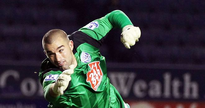 Myhill: Determined to fight for No.1 spot at West Brom