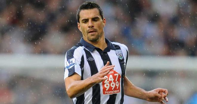 Scharner: Suspended for West Brom's clash with Wolves