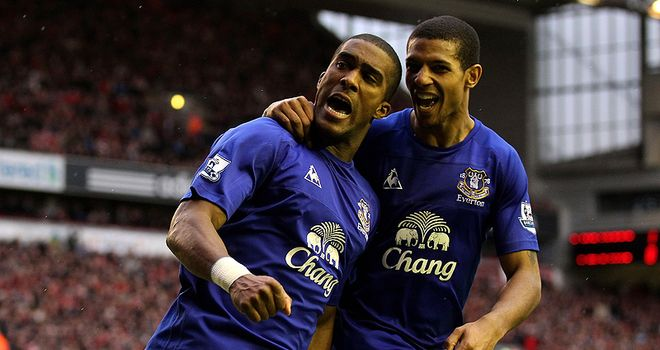 Distin: Confident Everton's youngsters can make the step up this season.