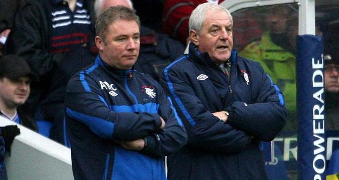 Ally McCoist and Walter Smith: The current Rangers boss says the door is always open to his predecessor