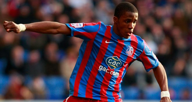 Zaha: Linked with the Premier League but Ambrose hopes the winger will stay at Crystal Palace