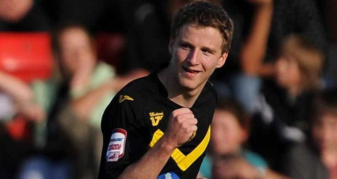 O'Kane: Netted a brace for Torquay