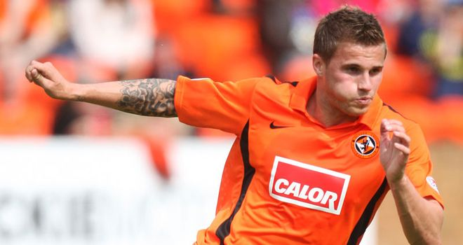 Goodwillie: Rangers have been linked with a move for Dundee United striker