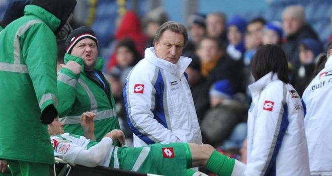Neil Warnock: Holds no ill feeling towards Blackburn after the Jamie Mackie leg break