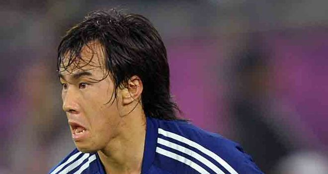 Shinji Okazaki: His late goal had edged Japan closer to World Cup qualification