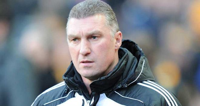 Pearson: Quick to praise his players after home win