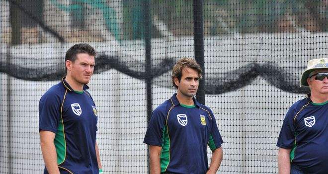 Positive spin: Smith (left) and Tahir