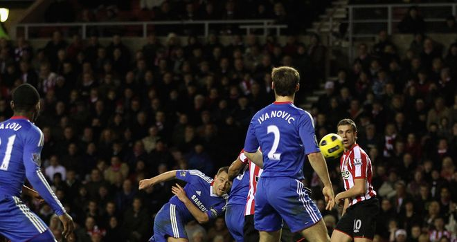 John Terry's looping strike puts Chelsea 3-2 ahead