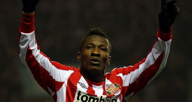 Gyan: Sunderland chairman Niall Quinn says sale reports are nonsense