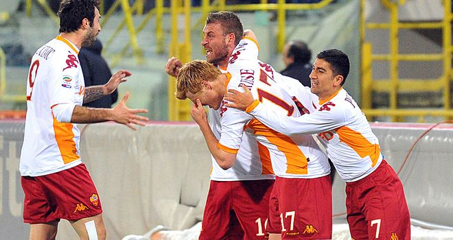 Daniele De Rossi: Roma midfielder continues his association with the club