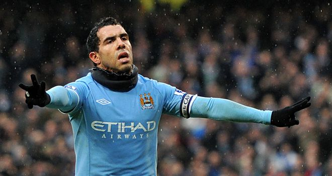 Tevez: City are under no pressure to sell, as the Argentine has three years left on his contract