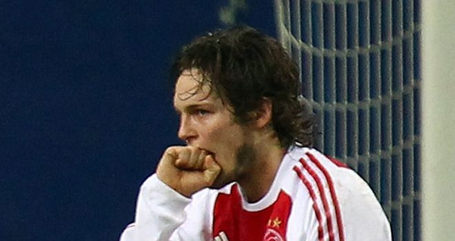 Daley Blind: Netted an equaliser for Ajax