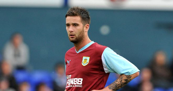 Edgar: Keen to stay in the Burnley team after enjoying his time under manager Eddie Howe