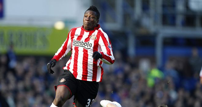 Gyan: Looking forward to scoring more goals for Sunderland in the coming season