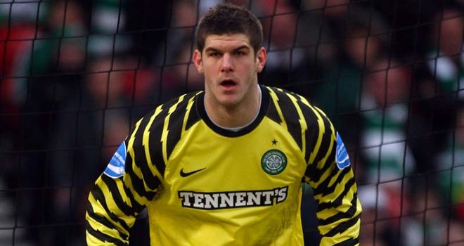 Forster: Keeper is set to rejoin Celtic on loan and could face Sion in the Europa League