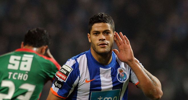 Hulk: Reportedly the subject of an 80m euro bid