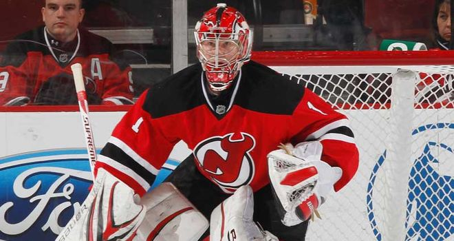Johan Hedberg: 22 saves in a shutout for Devils goalie