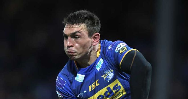 Sinfield: challenge for Wigan
