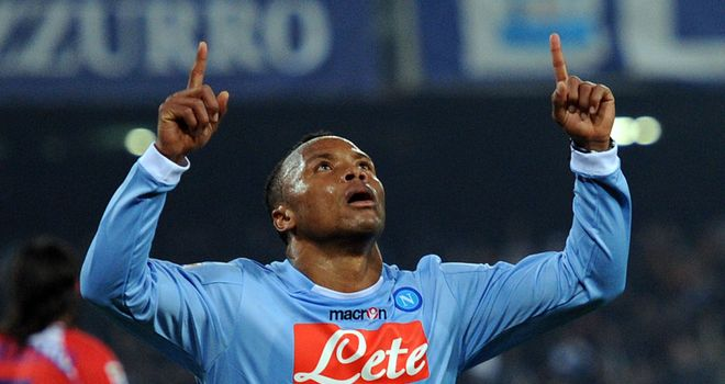 Camilo Zuniga: Hoping to end his career with Napoli