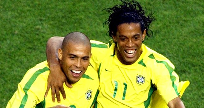 Ronaldinho: Set to pull on the Brazil shirt again for the first time in ten months