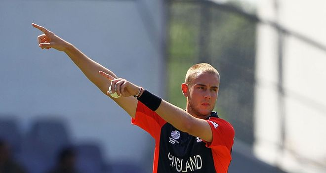 Broad: talked of as future England captain