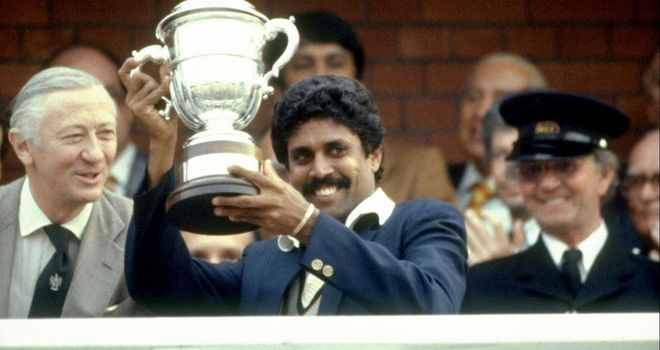 Kapil Dev and India went on to win the 1983 World Cup final after beating England in the semi-final