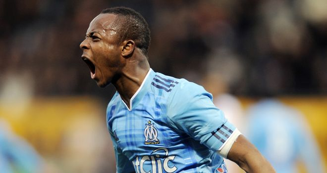 Ayew: Has been linked with Man United and Barcelona after impressing at Marseille