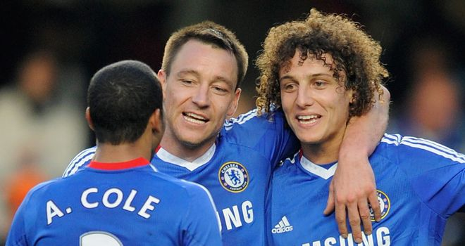 Terry: Backing his defensive partner David Luiz to take over the armband one day